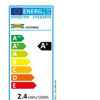 Energy Label Of: 10446944
