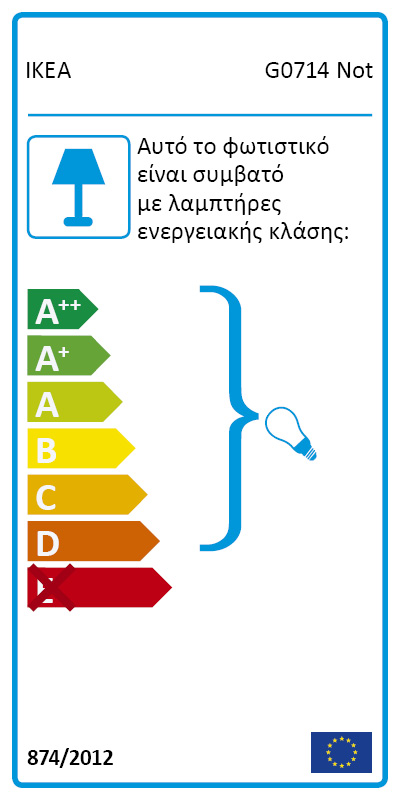 Energy Label Of: 20139874