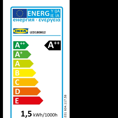 Energy Label Of: 60411758