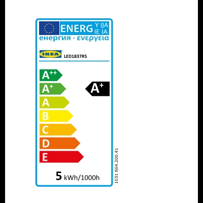 Energy Label Of: 60420041