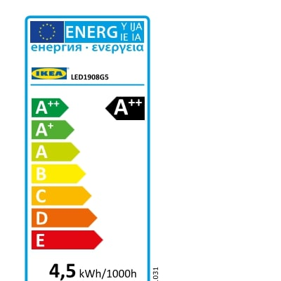 Energy Label Of: 20438745
