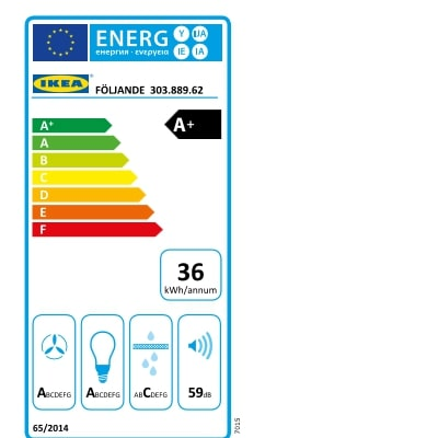 Energy Label Of: 30388962