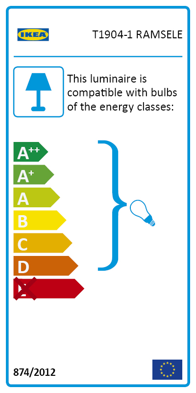 Energy Label Of: 30404882