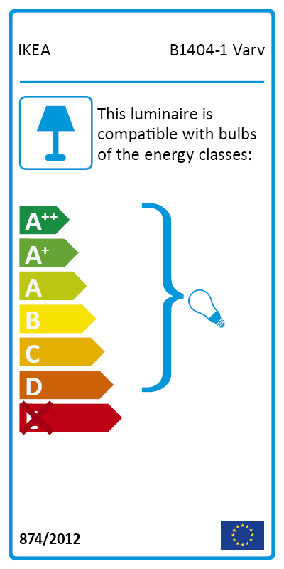 Energy Label Of: 40304047