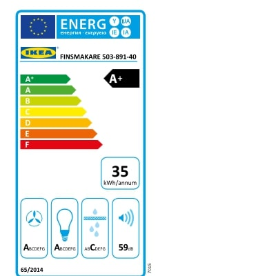 Energy Label Of: 50389140