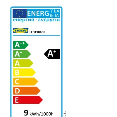 Energy Label Of: 50438598