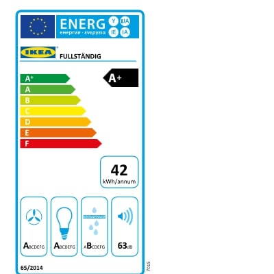 Energy Label Of: 70389337