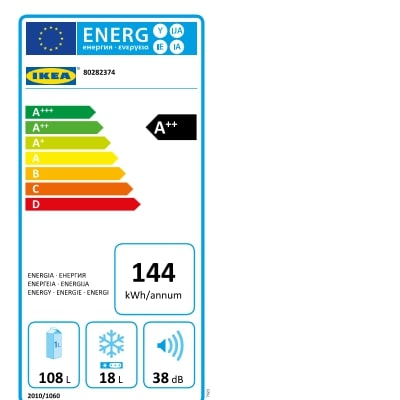 Energy Label Of: 80282374