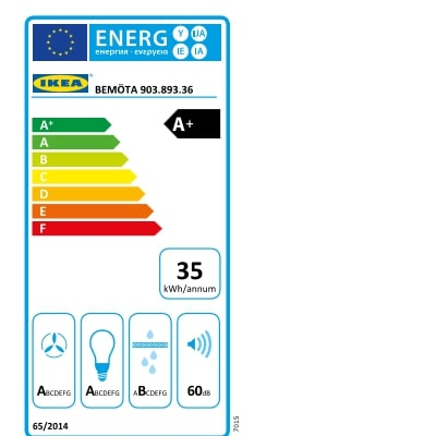 Energy Label Of: 90389336